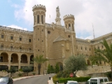 <p>The Vatican representative palace in Jerusalem.<br /><br /></p>