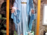 "<p><a title=""Read our article about Mary"" href=""../S-deception_end-time_paganism_Catholic_Mary"" target=""blank"">Mary</a> standing on a serpent in a church in Bethlehem. <br /><br /><br />Watch<a href=""https://amazingdiscoveries.tv/media/132/219-the-wine-of-babylon/""> The Wine of Bablyon on ADtv</a> for more information.</p>"