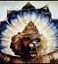 <p>Serpents behind the head of Lord Nrsimhadeva, India. <br /><br /><br /></p>