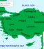 <p>Map of the Anatolia region.<br /><br /></p>