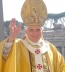 "<p>Pope Benedict XVI, with Maltese cross emblems on his robe. The four-spoked Maltese cross within a circle is a key symbol of <a title=""Read"" href=""http://amazingdiscoveries.org/S-deception_end-time_paganism_Catholic_sun-worship"" target=""blank"">sun worship</a>. <br /><br /></p> <p>Watch<a href=""https://amazingdiscoveries.tv/media/132/219-the-wine-of-babylon/""> The Wine of Bablyon on ADtv</a> for more information.</p>"