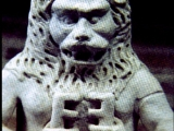 "<p>Babylonian lion god holding the keys. The keys were closely connected with the symbol of the lion. <br /><br />Watch<a href=""https://amazingdiscoveries.tv/media/132/219-the-wine-of-babylon/"">&nbsp;The Wine of Bablyon on ADtv</a>&nbsp;for more information.</p>"