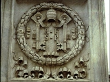 "<p>""Keys of Peter"" depicted on a Catholic building. The Papacy claims to have the keys of Peter&mdash; the keys to heaven and hell. St. Alphonsus Liguori, in his <em>The Dignities and Duties of the Priest (1927)</em> tell us, ""The priest has the power of the keys, or the power of delivering sinners from Hell, of making them worthy of Paradise, and of changing them from the slaves of Satan into the children of God. And God Himself is obliged to abide by the judgment of His priests, and either not to pardon or to pardon."" If this is true, then a system determines your eternal future, rather than God. <br /><br /></p> <p>Watch<a href=""https://amazingdiscoveries.tv/media/132/219-the-wine-of-babylon/"">&nbsp;The Wine of Bablyon on ADtv</a>&nbsp;for more information.</p>"