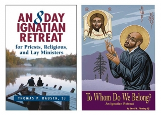 Two of the many current books on Ignatian retreating: An 8 Day Ignatian Retreat, published in 2008, and To Whom Do We Belong, published in 2009.