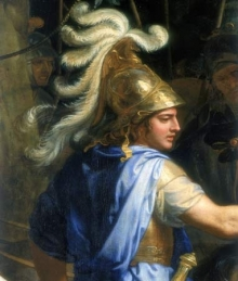 Alexander and Porus. 1673. Charles Le Brun. https://commons.wikimedia.org/wiki/File:Le_Brun,_Alexander_and_Porus.jpg