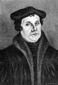 Martin Luther. Source: Wikimedia Commons