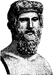 A bust of Plato. Public Domain https://commons.wikimedia.org/wiki/File:Plato.png