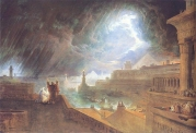 Depiction of the seventh plague by John Martin. Source: Wikimedia Commons.