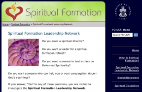 The Pentecostal Church is offering spiritual formation retreats and spiritual direction. Source: PC(USA).