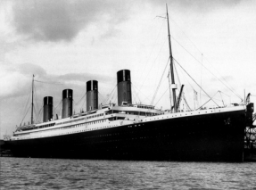The Titanic.  Public Domain https://commons.wikimedia.org/wiki/File:RMS_Titanic_3.jpg