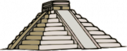 A ziggurat. Source: Wikimedia Commons