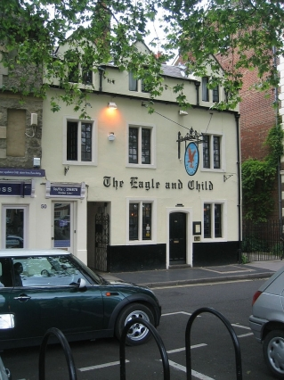 The pub in England where CS Lewis and JRR Tolkien met with their friends.