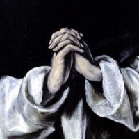 El Greco's painting of St Dominic in Prayer Public Domain https://commons.wikimedia.org/wiki/File:El_Greco,_St_Dominic_in_Prayer.JPG