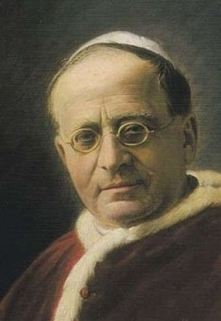 Pope Pius XI (1857-1939). Public Domain https://commons.wikimedia.org/wiki/File:Piuspp.xi.jpg