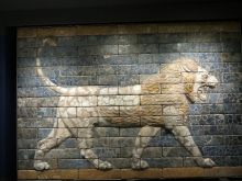 Pergamon Museum, Berlin CC BY-SA 3.0  Jononmac46 https://commons.wikimedia.org/wiki/File:BabylonLion-BM.JPG
