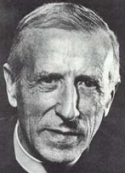 Pierre Teilhard de Chardin. His philosophies form the basis of UN thinking.  CC Sharealike Archives des jésuites de France CC Sharealike 3.0 https://commons.wikimedia.org/wiki/File:TeilhardP_1955a.jpg