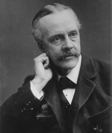Arthur Balfour, one man instrumental in forming the League of Nations. Source: Wikipedia.