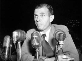 <p>Alger Hiss was accused of being a communist and a Soviet spy—which he denied. He was later convicted of perjury.</p>