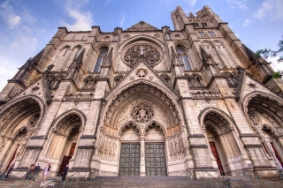 Cathedral Church of St. John the Divine, home of Templf of Understanding in New York. CC 3.0 by Kripaks https://commons.wikimedia.org/wiki/File:Cathedral_of_St._John.jpg