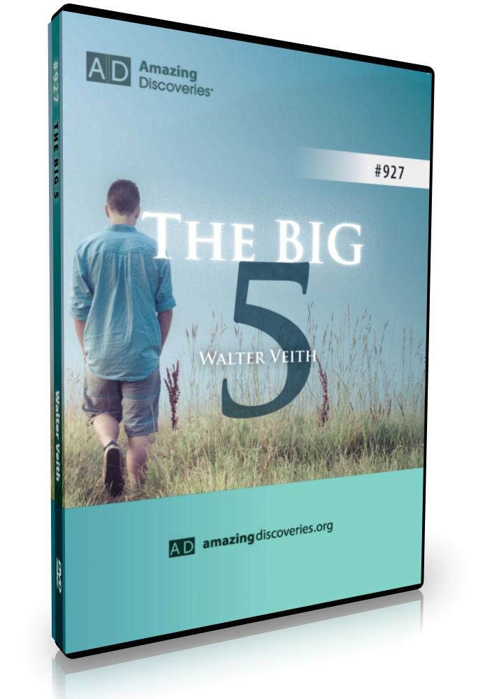 NEW DVD: The Big Five by Walter Veith