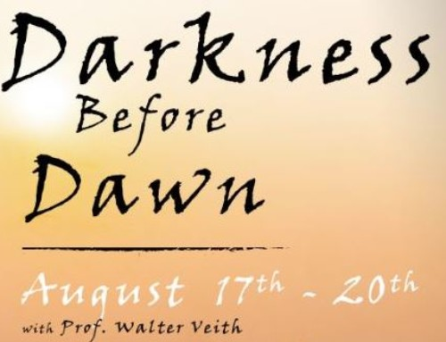 EVENT: Walter Veith's newest public series, Darkness Before Dawn in Abbotsford, BC!
