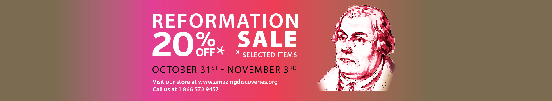 Reformation Sale!