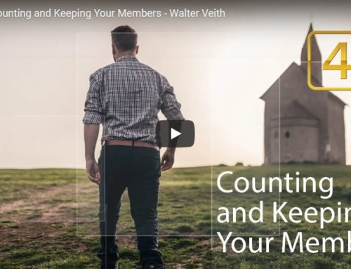 Counting and Keeping Your Members by Walter Veith