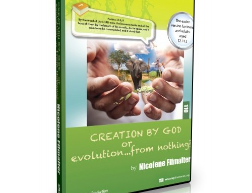 Creation by God or Evolution from Nothing? (DVD set)