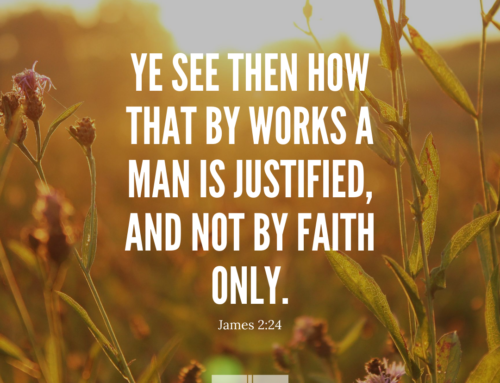 James 2:24